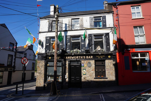 Mansworth's Bar on Midleton Street, Cobh