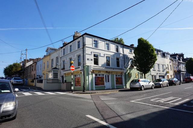 Junction of Midleton Street and Bishop Street, Cobh