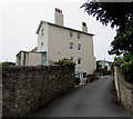 SY3392 : Four-storey house in Old Vicarage Garden, Lyme Regis by Jaggery