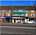 ST3090 : Malpas Road Spar under scaffolding, Newport by Jaggery