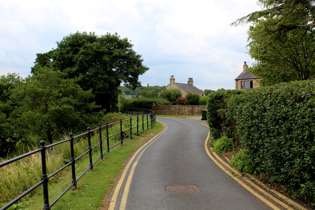 The Ribble Way heading out of Ribchester