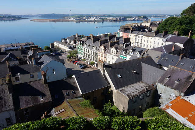 Cobh from Cathedral Place, Cobh