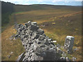 SD7561 : Boundary stone, Black Hill by Karl and Ali