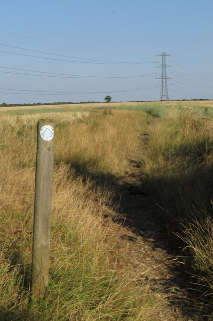 Bridleway to Easton Maudit