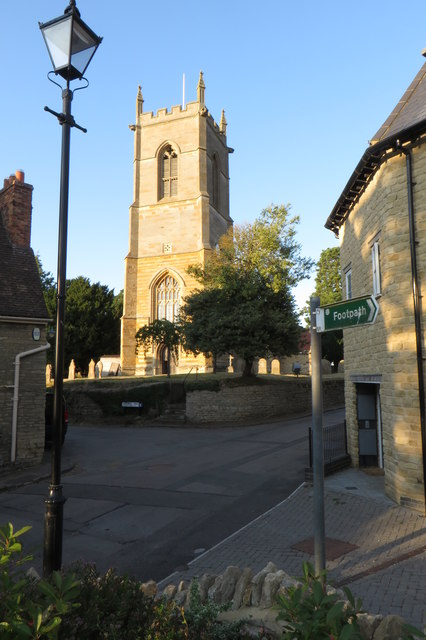 St Mary's church from the footpath