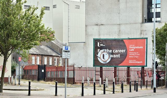 No 14 College Square North, Belfast (July 2018)