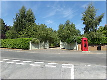 TM3864 : The entrance to Bell House by Adrian Cable