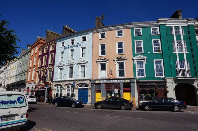 Businesses on Westbourne Place, Cobh