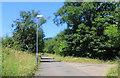 SP2566 : Former Hospital Driveway by Des Blenkinsopp