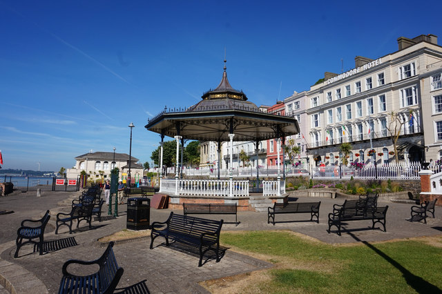 Bandstand in John F Kennedy Park, Cobh
