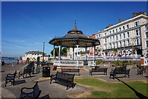 W7966 : Bandstand in John F Kennedy Park, Cobh by Ian S