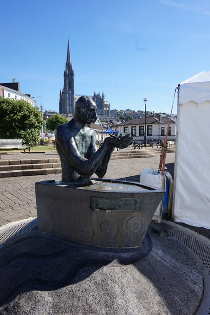 The Navigator in John F Kennedy Park, Cobh