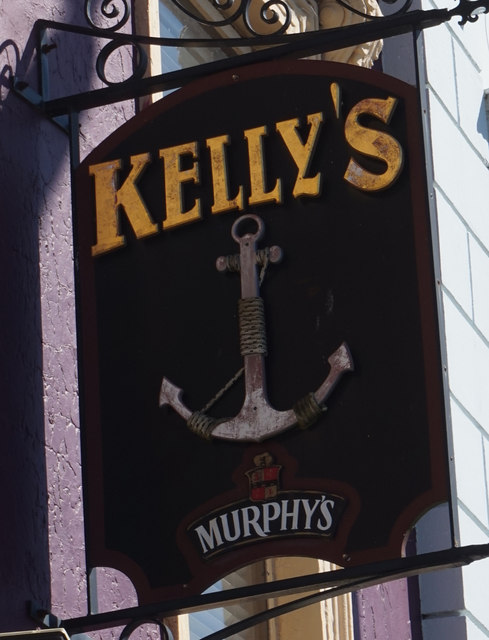 Kelly's Bar on Westbourne Place,  Cobh