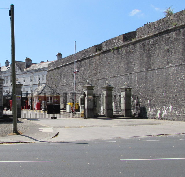 edb83f6b7 Royal Citadel entrance gates, Plymouth © Jaggery :: Geograph Britain ...