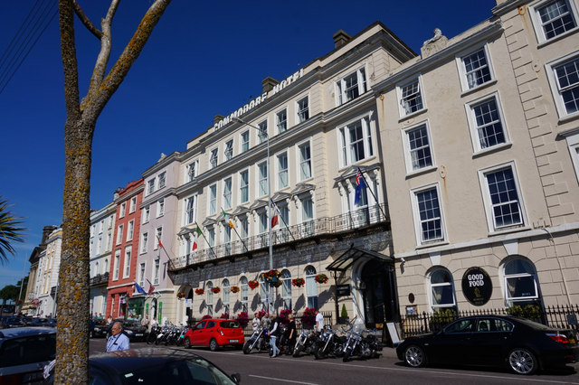 The Commodore Hotel, Westbourne Place, Cobh