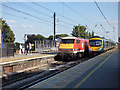 SE3693 : Northallerton station - up and down trains by Stephen Craven
