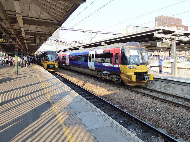 Leeds station - Ilkley and Skipton    © Stephen Craven