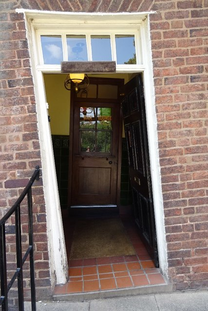 Door to The Crooked House