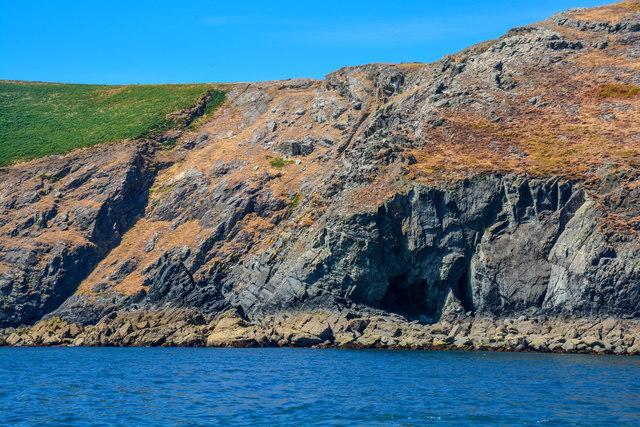 Lundy Island : Coastal Scenery