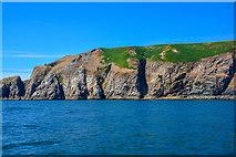 SS1343 : Lundy Island : Coastal Scenery by Lewis Clarke