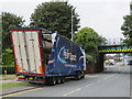 SJ3865 : Another bridge strike in Chester Street, Saltney by John S Turner