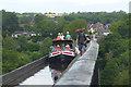 SJ2742 : On the Pontcysyllte Aqueduct by Robin Drayton