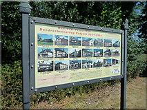 SO3958 : Sign at Pembridge Car Park by Fabian Musto