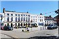SP2864 : Market Place, Warwick by Des Blenkinsopp