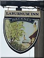 SK2961 : The sign the Laburnum Inn by David Lally