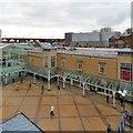 SJ8990 : Looking down on Merseyway by Gerald England