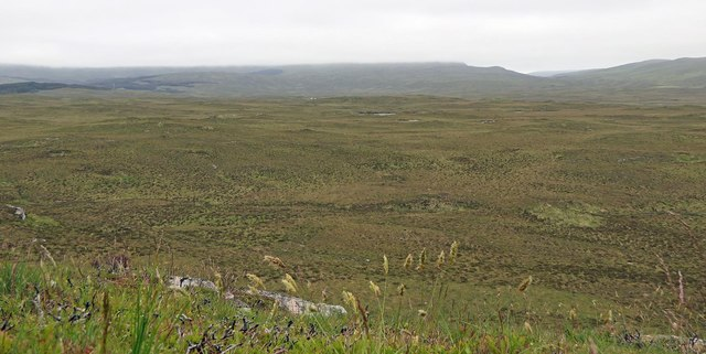 View across moorland from Corra Chnoc, Isle of Lewis