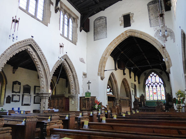 Church of St Gregory, Bedale - interior © Stephen Craven cc-by-sa