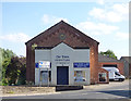SE2688 : Dales Furniture Hall, Bedale by Stephen Craven