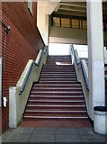 TG2309 : Anglia Square shopping centre - steps to Upper Green Lane by Evelyn Simak