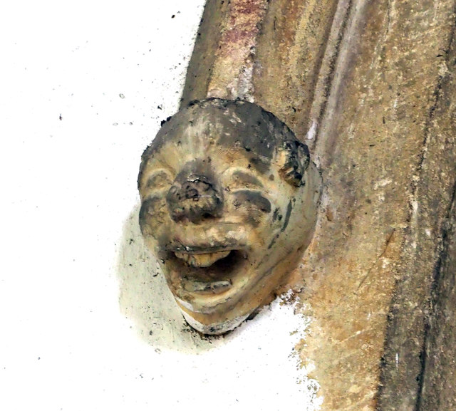 St Andrew, Sutton in the Isle - Corbel