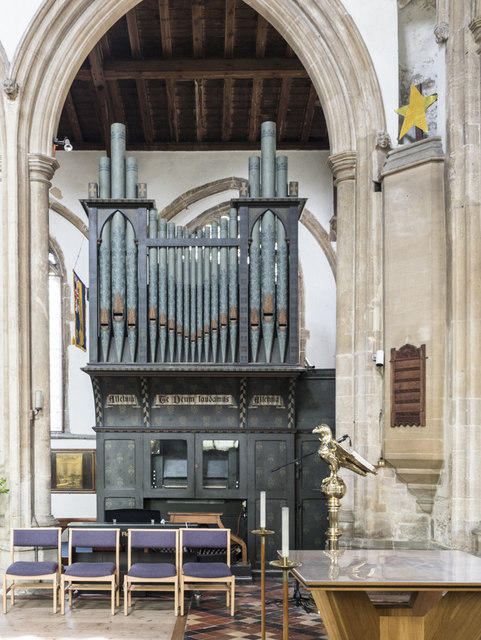 St Andrew, Sutton in the Isle - Organ