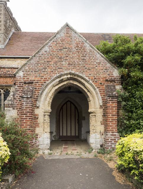 St Martin, Witcham - Porch