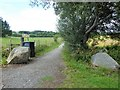 NJ6301 : Pathway from Milltown of Craigmyle to Torphins Parish Church by Stanley Howe