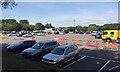 ST5175 : Car park, M5 Gordano Services, west of Bristol by Robin Stott