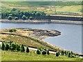 SK0999 : Land spit in Woodhead Reservoir by Graham Hogg