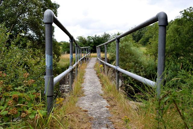 Footbridge across the Camowen River