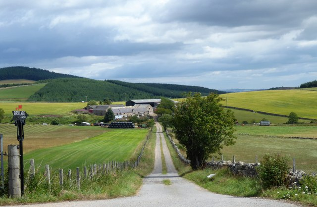 Access track to Birselasie farm