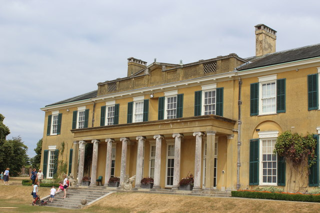 South facade, Polesden Lacey House