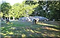 NH7544 : North-East Cairn, Clava Cairns, Balnuaran of Clava by G Laird