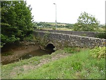 SX6946 : Bridge over stream at Bridge End, Aveton Gifford by David Smith
