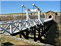 NH7656 : Principal Bridge, Fort George, Ardersier by G Laird