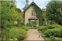 TQ1352 : Garden Cottage at Polesden Lacey by M J Roscoe