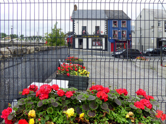Floral display near Strule Arts Centre, Omagh