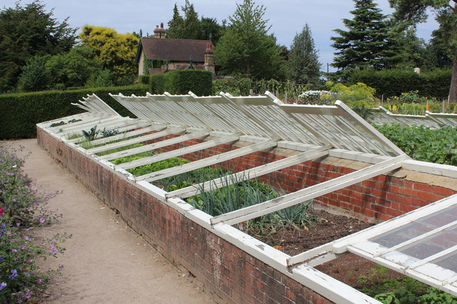 Frame yard, gardens at Polesden Lacey