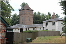 TQ1352 : Water tower, Polesden Lacey by M J Roscoe